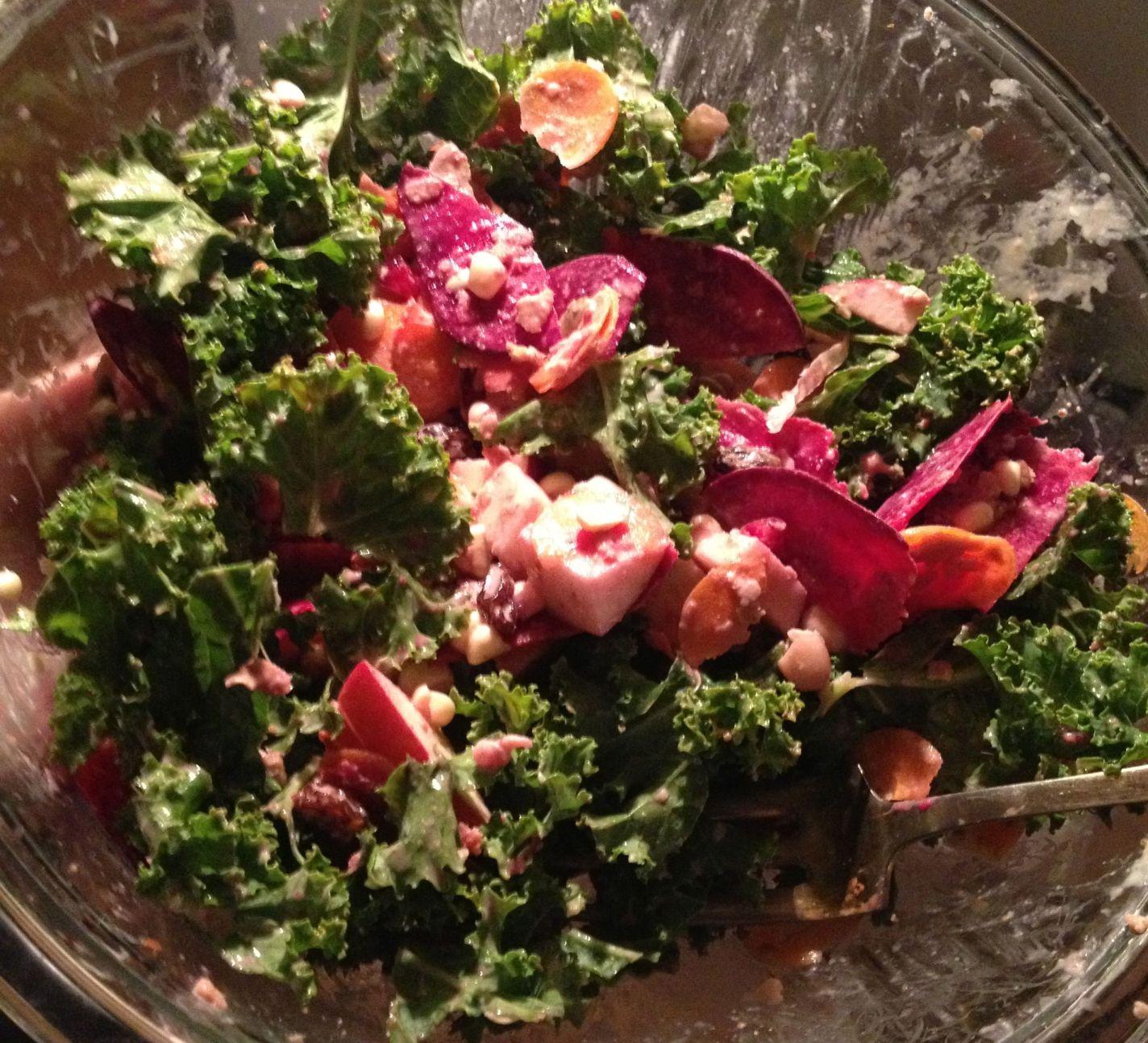 Kale, Beet & Apple Salad