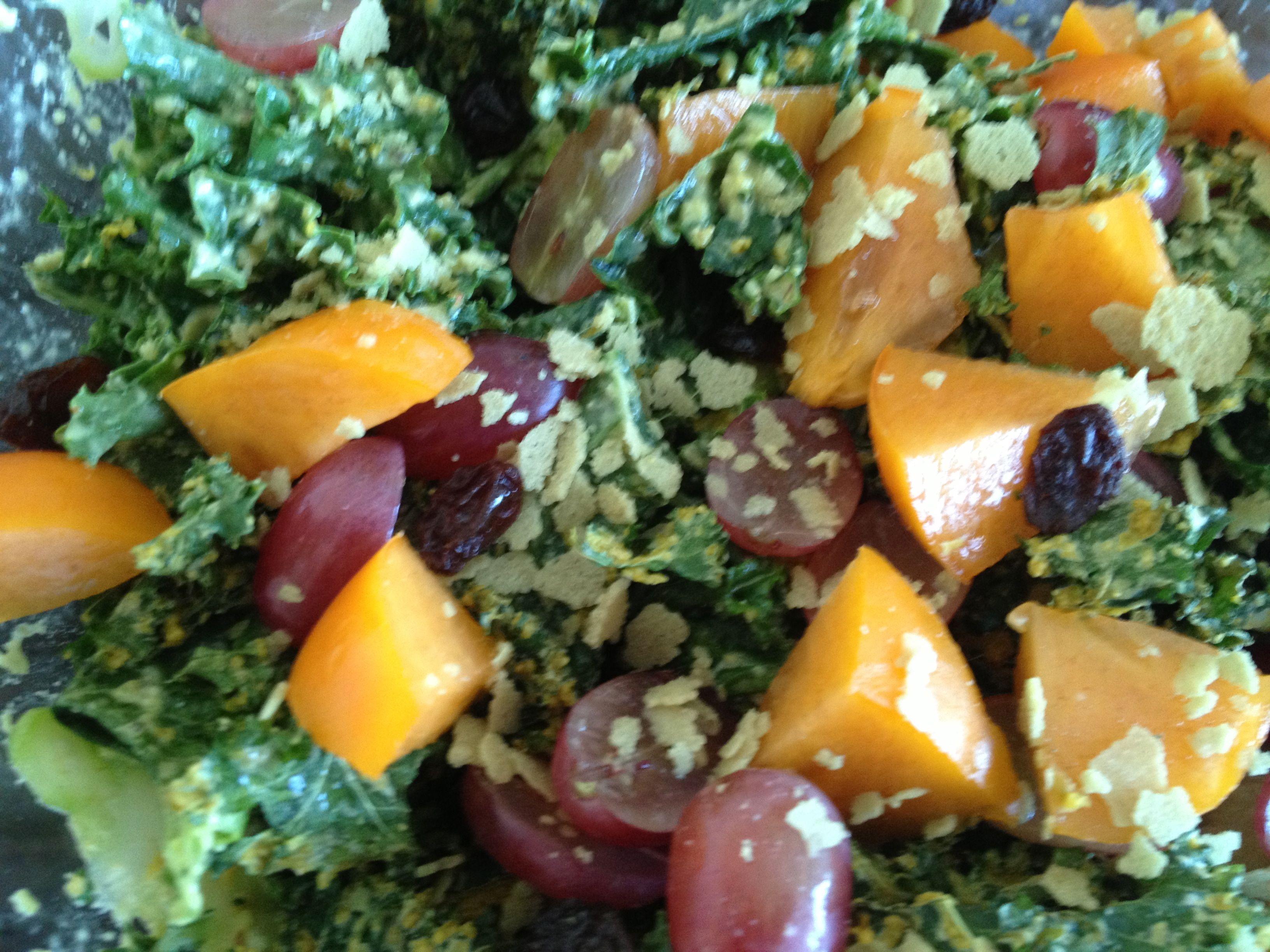 Cheesy Kale Salad